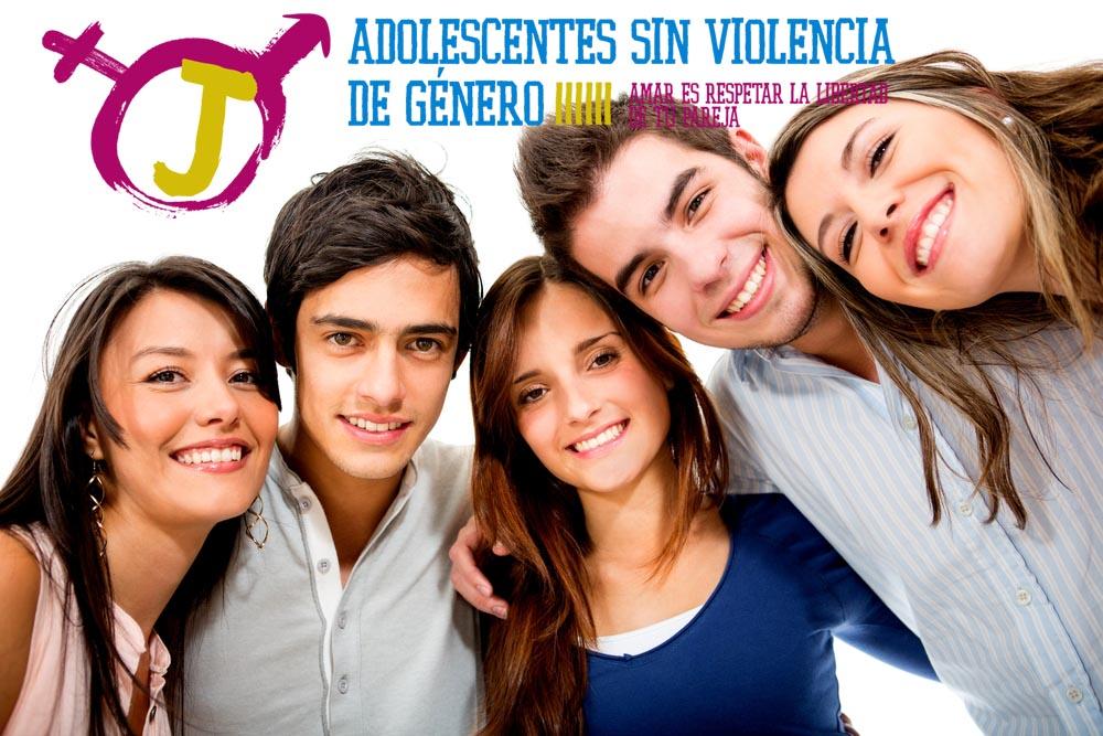 adolescentes sin violencia de genero sonriendo aSINvg