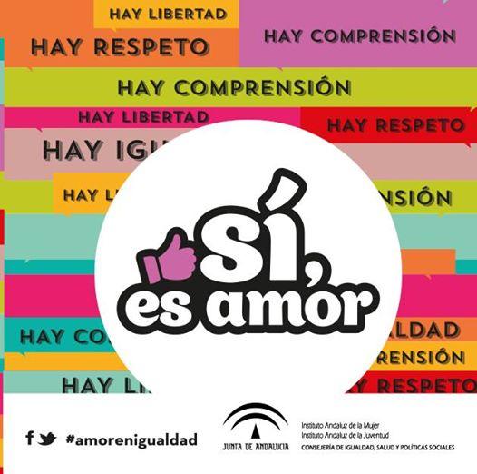 Sí, es amor: Andalucía contra la violencia de género en la red