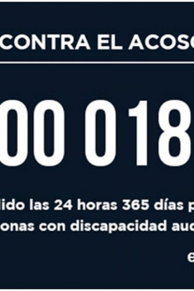 Teléfono gratuito contra el acoso escolar: 900 018 018